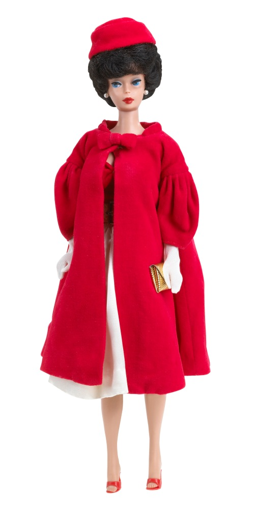 1962 Barbie Red Flare