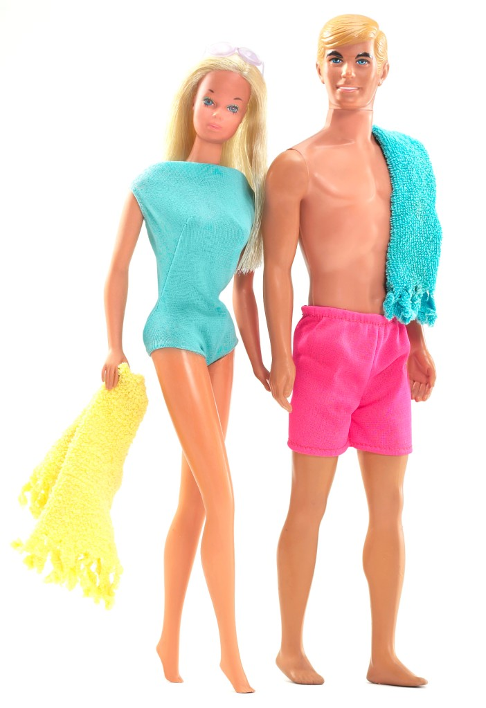 1970s Barbi and Ken