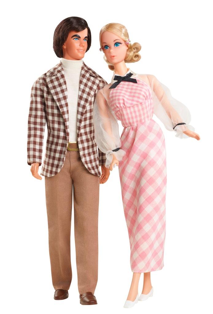 1972 Barbie and Ken