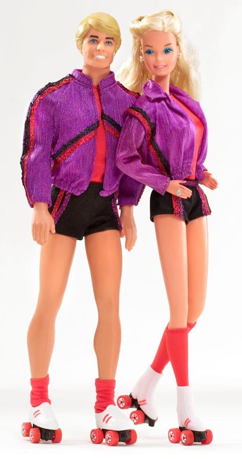 1980s Barbie and Ken
