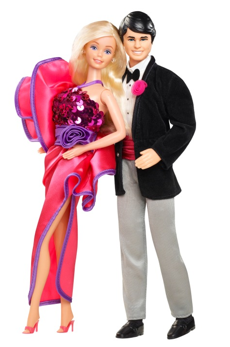 1984 Barbie and Ken