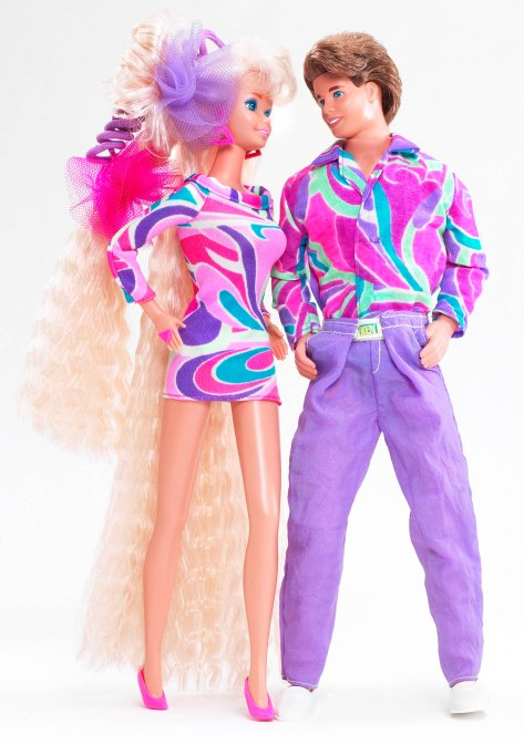 1990s Barbie and Ken
