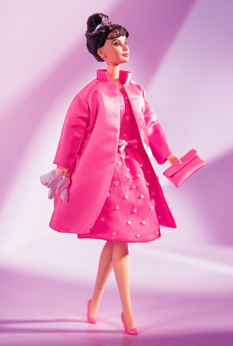Audrey Hepburn in Breakfast at Tiffany's Pink Princess Fashion