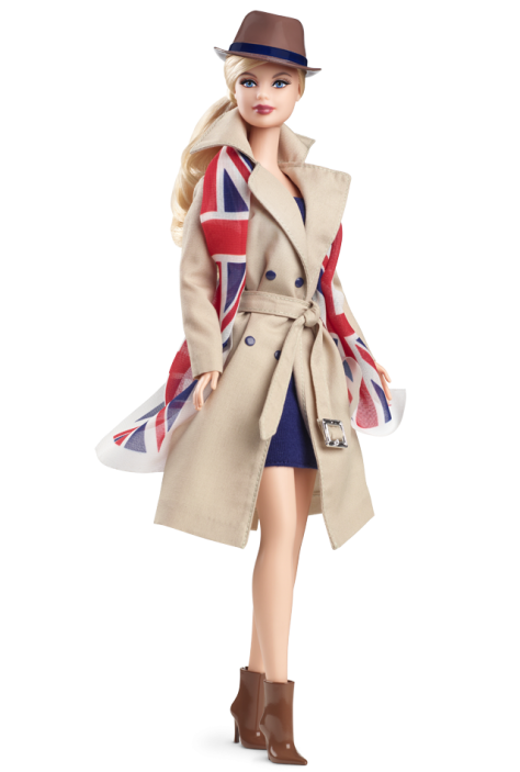 United Kingdom Barbie Doll