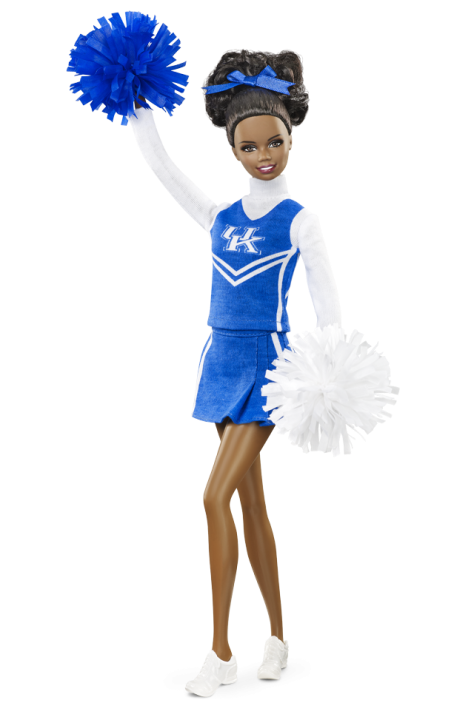 University of Kentucky Barbie Doll - African American