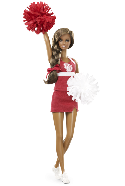 University of Oklahoma Barbie Doll - African American