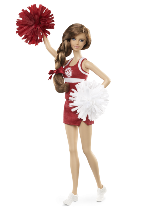 University of Oklahoma Barbie Doll