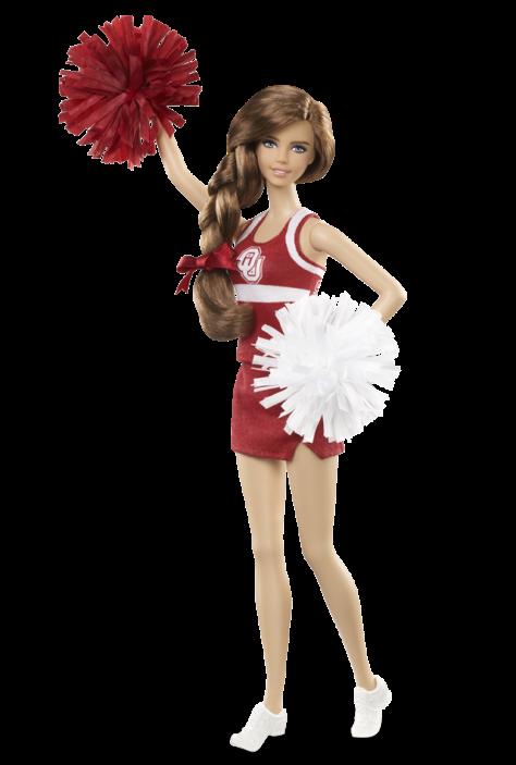 University of Oklahoma Barbie Doll