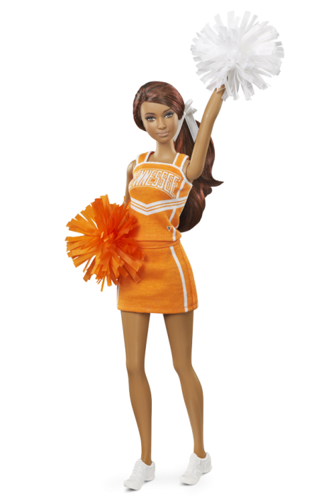 University of Tennessee Barbie Doll - African American