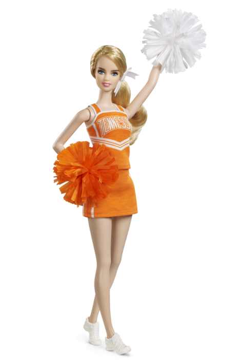 University of Tennessee Barbie Doll