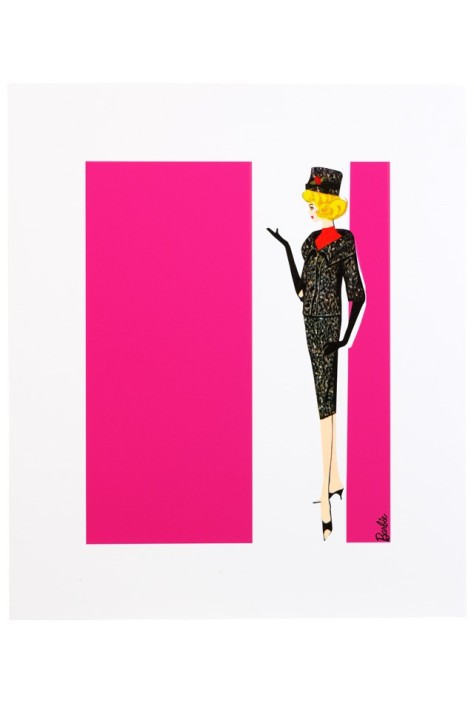 Barbie Art Print - Career Girl
