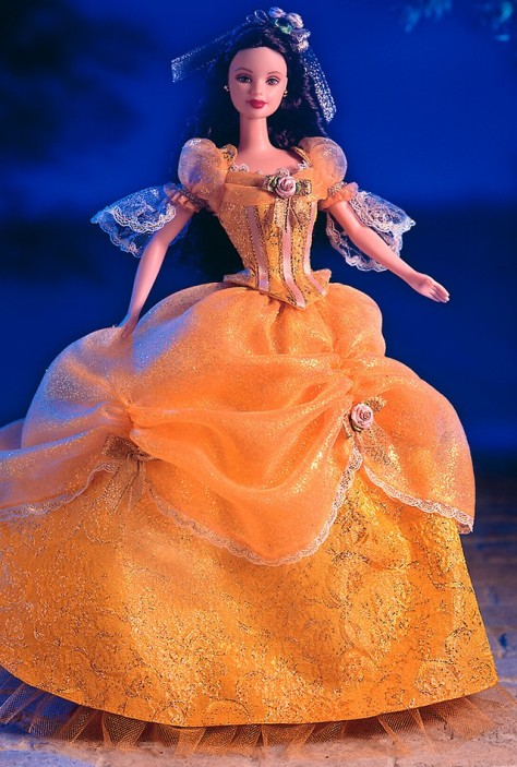 Barbie Doll as Beauty from BEAUTY and the BEAST