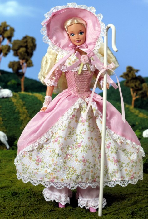 Barbie Doll as Little Bo Peep