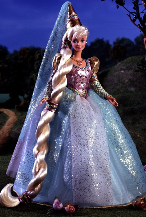 Barbie Doll as Rapunzel