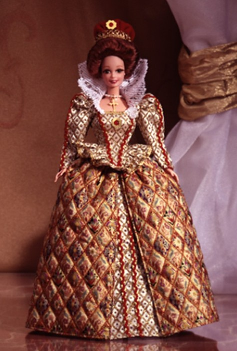 Elizabethan Queen Barbie Doll