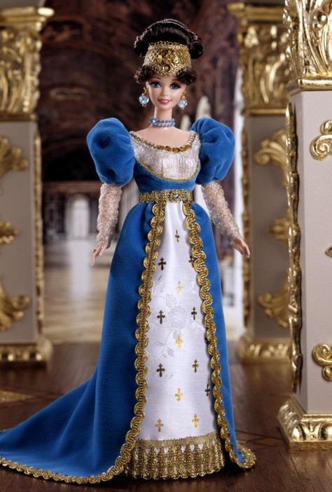 French Lady Barbie Doll