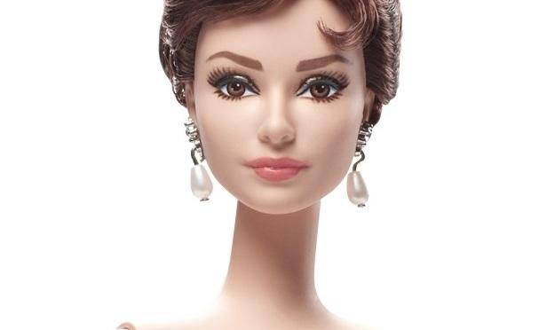 Audrey Hepburn, como Sabrina, en muñeca Barbie