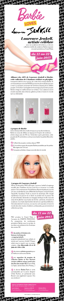 Barbie Laurence Jenkell French