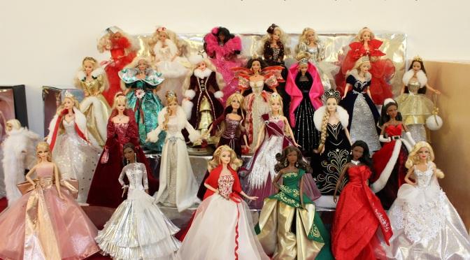 Convención Nacional de Coleccionistas de Barbie en España: exposición de muñecas