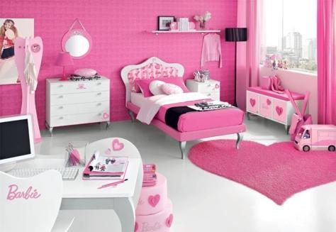 Teen-Bedroom-Furniture-pink-barbie