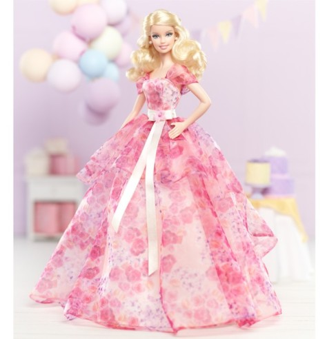 Birthday Wishes Barbie Doll