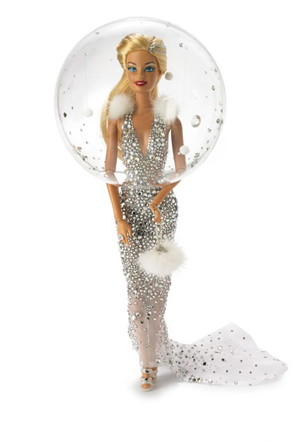 Snow Globe Barbie