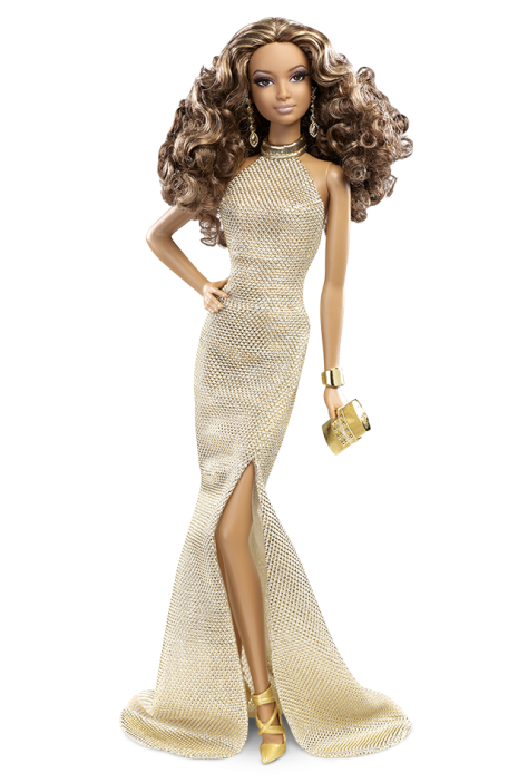 The Barbie Look Collection - Gold Gown