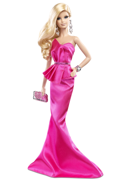 The Barbie Look Collection - Pink Gown