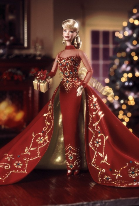Holiday Gift Barbie Doll