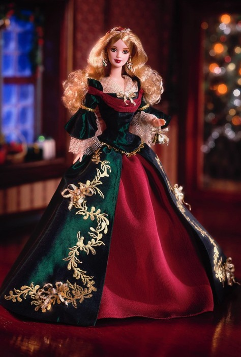 Holiday Treasures Barbie Doll 2000