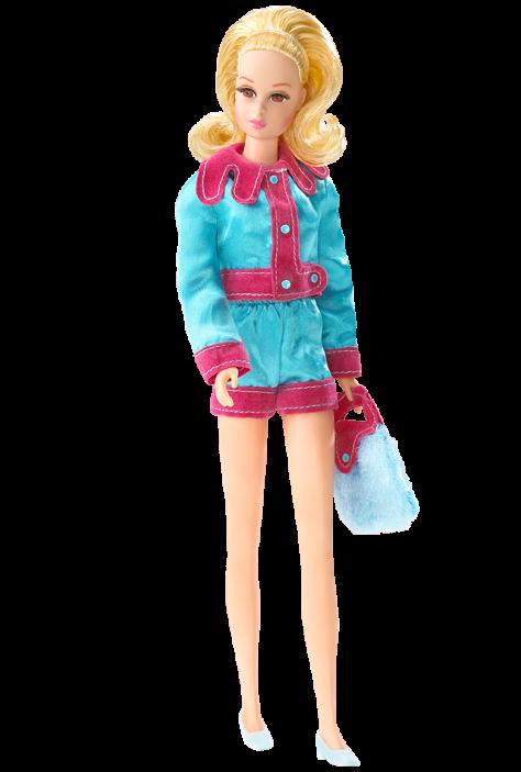 Smashin' Satin Francie Doll