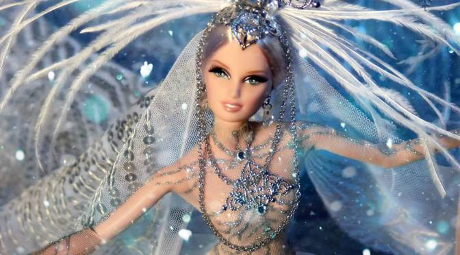 Reina de las Nieves OOAK Barbie doll by David Bocci