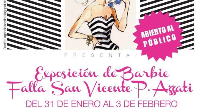 Exposición con más de 300 Barbies en Valencia