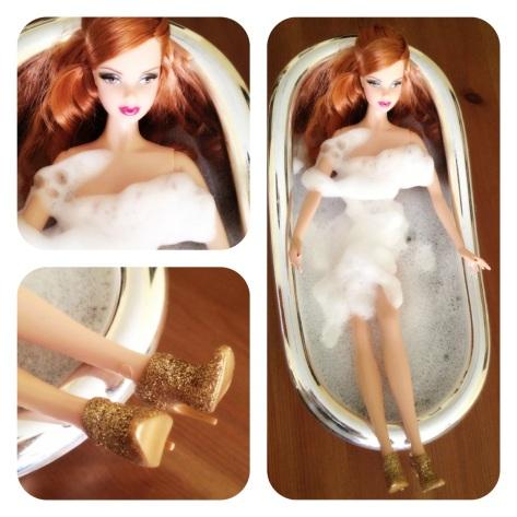barbie zapatos 007