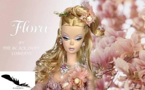 Flora OOAK Barbie Doll (The Black Swan Company)