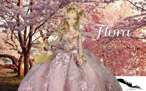 Flora OOAK Barbie Doll (The Black Swan Company)