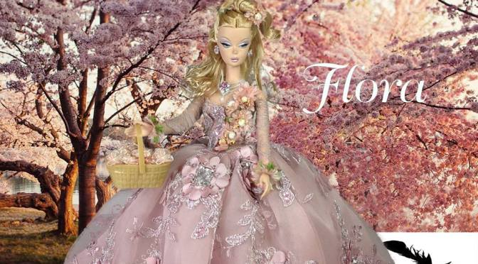 FLORA OOAK Barbie Doll by The Swan Company