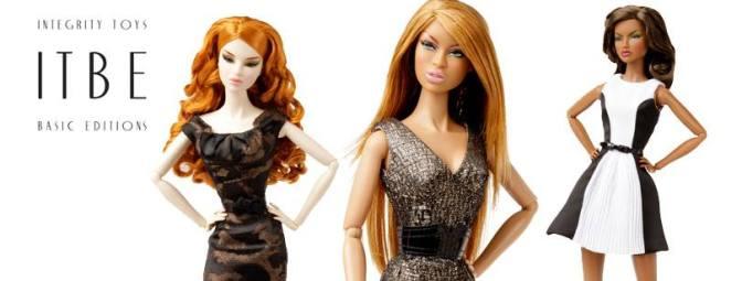 The ITBE COLLECTION: nuevas muñecas desde Integrity Toys