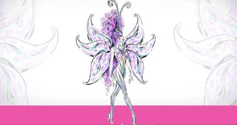 Bob Mackie Princess Stargazer Barbie Doll sketch