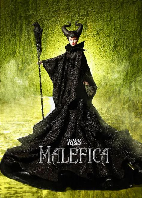 Maleficient Barbie Doll