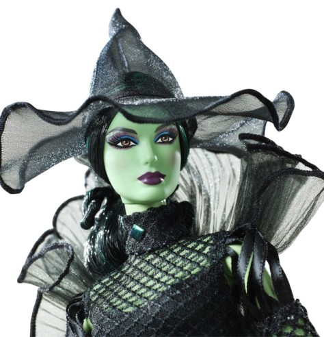 The Wizard of Oz Fantasy Glamour Wicked Witch of the West Barbie Doll