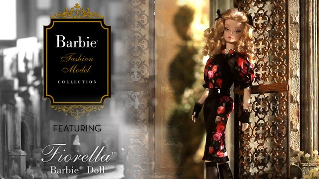 Fiorella Barbie Doll and the 2014 Barbie Fashion Model Collection