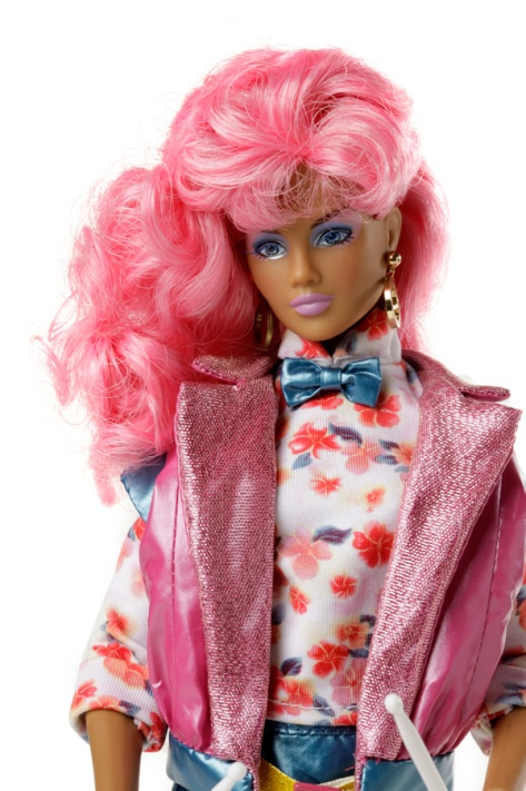Raya Alonso doll- Jem and the Holograms