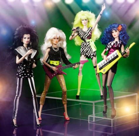 Jetta Burns doll - Jem and The Holograms