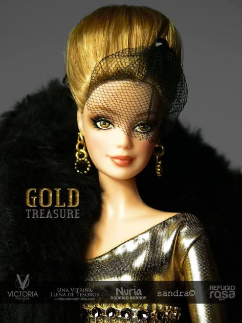 Golden Treasure OOAK Barbie Doll