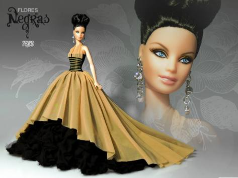 Arisaro OOAK Barbie Doll de David Bocci