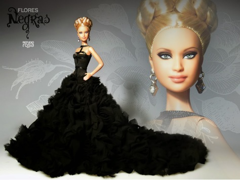 Dahlia OOAK Barbie Doll de David Bocci