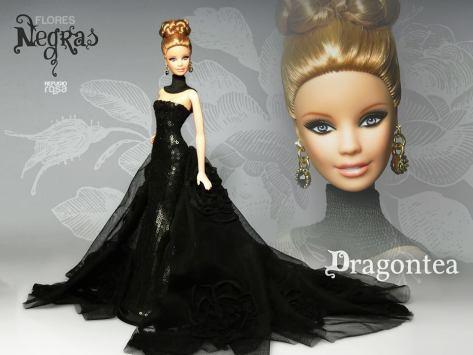Dragontea OOAK Barbie Doll de David Bocci