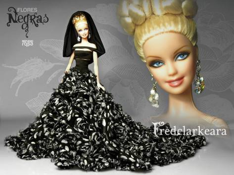 Fredclarkeara OOAK Barbie Doll de David Bocci