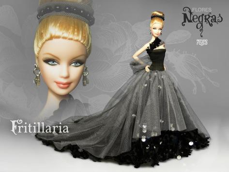 Fritillaria OOAK Barbie Doll de David Bocci